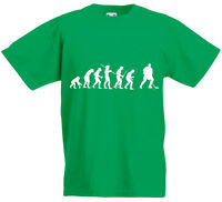 Evolution of Ice Hockey, Sport, NHL inspired Kid's Printed T-Shirt Boys Girls UK