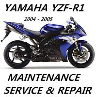 Yamaha YZF-R1 R1 YZFR 1000 Service Repair Manual 2004 2005 Maintenance Tune-Up