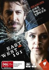 East West 101 : Season 1-3 (DVD, 2011, 9-Disc Set) - Region 4