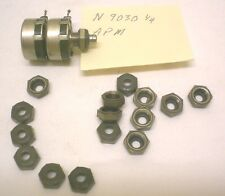 New 15 Rotary Shaft Seals for Switch/Potentiometer APM Model # N 9030 1/4,  USA