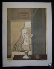 "SALVADOR DALI  ""DOUBLE IMAGE"" signed/ltd ed  LITHOGRAPH"