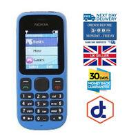Brand New Nokia 100 Blue Unlocked Dual band Phone