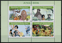 Madagascar 2019 CTO Jungle Book Mowgli Baloo 4v M/S I Disney Cartoons Stamps