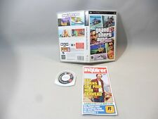 GTA FOR PSP COMPLETE BOX + MANUAL VICE CITY STORIES IN STATE GEAR