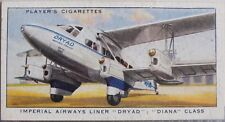 No.2 IMPERIAL AIRWAYS LINER DRYAD DIANA International Air Liners Player 1936