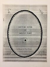 Vintage Lecture Notes Of Arnold Furst Magic Knife Through Card Tricks Silks