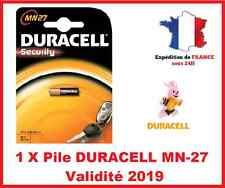 1 Batteria DURACELL MN-27/A27 / LR27 - 12V DLC 2019