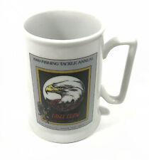 Eagle Claw 1989 Fishing Tackle Commemorative Ceramic Coffee Mug cup beer Stein