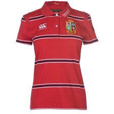 Canterbury Mujers British And Irish Lions Rugby Polo Shirt Ladies