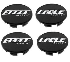 4 CAP DEAL EAGLE ALLOYS WHEEL RIM BLACK CENTER CAP ACC 3087 02 MADE IN KOREA 138