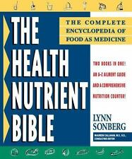 Health Nutrient Bible: The Complete Encyclopedia of Food as Medicine-ExLibrary