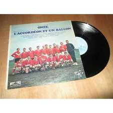 LUCIEN ATTARD / THIERRY ROLAND &... - onze, l'accordeon et un ballon FOOTBALL Lp