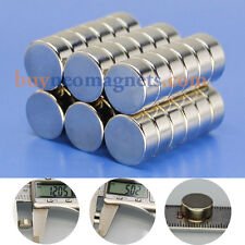 10pcs N42 12mm X 5mm Super Strong Round Magnets Disc Rare Earth Neodymium Magnet