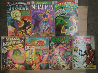 Early Silver Age Of Lot 10 and 12 Cent Issues-Hoouse of Mystery/Doom Patrol--DC