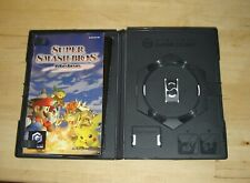 NINTENDO GAMECUBE SUPER SMASH BROS MELEE CASE & MANUAL ONLY NO DISC