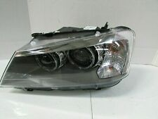 2011-2014 BMW X3 OEM EUROPEAN LEFT XENON HID HEADLIGHT W/ ADAPTIVE COMPLETE D4