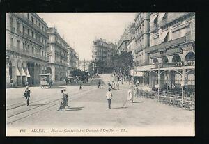 North Africa Algeria ALGER Rues de Constantine Louis LL c1900/10s? PPC