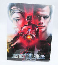JUSTICE LEAGUE - Glossy Bluray Steelbook Magnet Cover (NOT LENTICULAR)