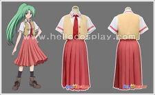 Higurashi no Naku Koro ni Cosplay School Girl Uniform Mion Sonozaki Costume H008
