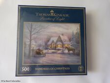 "Gibsons puzzle-Thomas Kinkade ""Ricordi di Natale"" - 500 Pezzo, Nuovo"