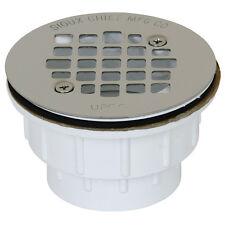 "Oatey 42045 825-2P 2"" Pvc Shower Drain 2-Inch White"
