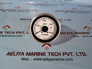 Gardner tachometer 0-2000 rpm range