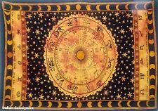 Bedspread Horoscope Astrology Sun sign Hippie Tapestry Wall Hanging Bedding Twin