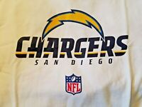San Diego Chargers NFL Reebok Short Sleeve T Shirt White L