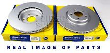 2X FRONT AXLE BRAKE DISC LAND ROVER FREELANDER (L314) (L359) 1.8 2.0 2.5 ADC1308