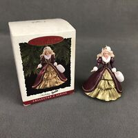 Hallmark Keepsake Ornament Holiday Barbie Collector Series 1996 Christmas Tree