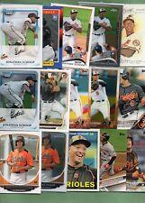 Jonathan Schoop (Baltimore Orioles/Detroit Tigers) 15 card lot w/Rookies