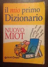 MIO PRIMO DIZIONARIO NUOVO MIOT GIUNTI JUNIOR 8809021568