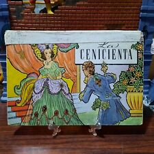 antique book cinderella pop up 1949