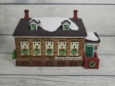 Dept 56 New England Village Stoney Brook Town Hall #56448 Light Cord Included