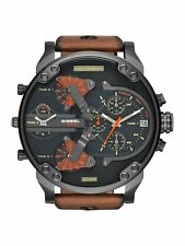 NEW DIESEL DZ7332 MENS MR DADDY 2.0 57MM CHRONOGRAPH WATCH - 2 YEAR WARRANTY
