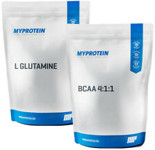 MyProtein Double Special cuanto 1kg BCAA 4:1:1 + L glutamina polvo My proteína bcaas