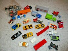 HO SCALE MISCELLANEOUS TRUCK AND CAR SLOT CAR GROUP