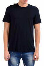 Balenciaga Men's Off Black Crewneck Short Sleeve T-Shirt US L IT 52