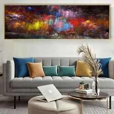 Extra Large Abstract Wall Art Poster Décor canvas Print Hotel Home Bed Interior