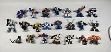 Lot of 21 2006 Hasbro Transformers Mini Robot Heroes Figures Pre Owned. Plus