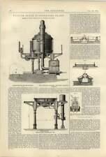 1887 Vacuum Sugar Plant Smith Glasgow Bentley Knight Electric Railway System
