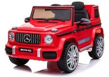 Mercedes G63 AMG, Eva Räder, Kinderauto Kinderfahrzeug Kinder Elektroauto rot