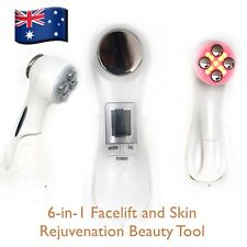 The Best RF - Facelift  Beauty Tool, Ultrasonic Face Massage, LED Light Therapy