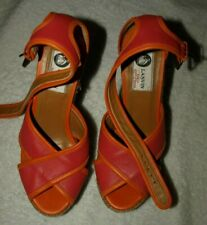 Woman's leather shoes LANVIN Size 37 made in Spain