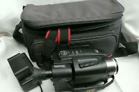 JVC GR-AX528 Compact VHS Camcorder with Charger, Batteries & Canon Carry Case