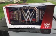 WWE World Heavyweight Championship Title Belt Adult Full Size Prop Replica NEW!!
