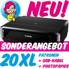Canon PIXMA iP7250 iP 7250 im XXL-Set inkl. 20 XL-PATR0NEN +U$B +FOTOPAP!ER NEU!