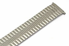 SPEIDEL 16-21MM EXTRA LONG SILVER TWIST O FLEX EXPANSION WATCH BAND STRAP