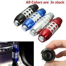 Aluminum Blue Modified Automatic Car Gear Stick Shift Knob Shifter Lever Botton