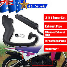 EXHAUST SYSTEM MUFFLER SILENCER PIPE CLAMP GASKET For YAMAHA PW80 PW80 PY80 BIKE